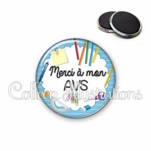 Magnet 56mm Merci AVS (009BLE01)