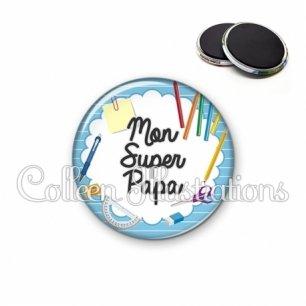 Magnet 56mm Super papa (009BLE01)