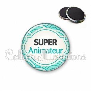 Magnet 56mm Super animateur (011BLE02)
