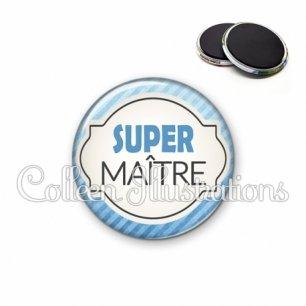Magnet 56mm Super Maître (011BLE06)