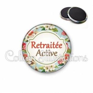 Magnet 56mm Retraitée active (011MUL03)