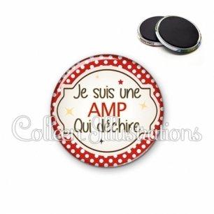 Magnet 56mm AMP qui déchire (011ROU01)