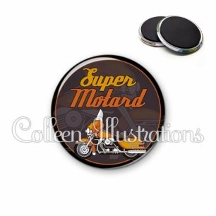 Magnet 56mm Super motard (012MAR02)