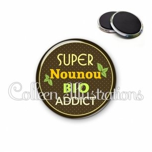 Magnet 56mm Nounou bio addict (012MAR03)