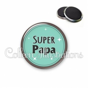 Magnet 56mm Super papa (012VER01)
