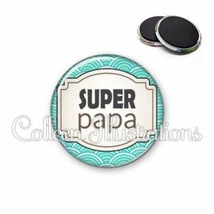 Magnet 56mm Super papa (013BLE04)