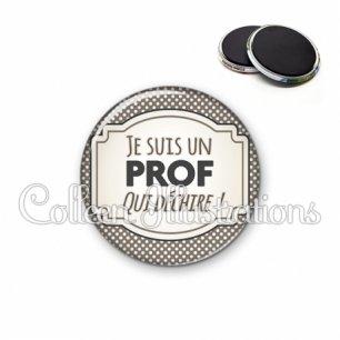 Magnet 56mm Prof qui déchire (013GRI01)