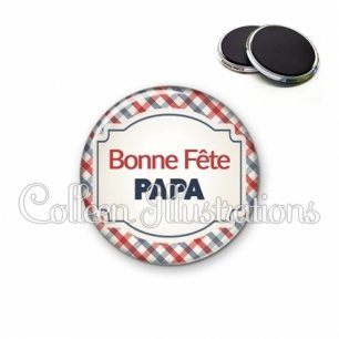 Magnet 56mm Bonne fête papa (013MUL01)