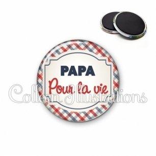 Magnet 56mm Papa pour la vie (013MUL01)