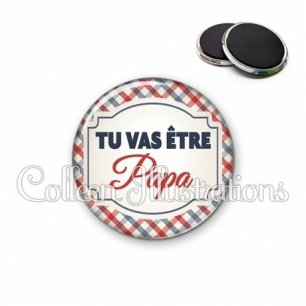Magnet 56mm Tu vas être papa (013MUL01)