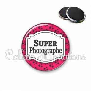Magnet 56mm Super photographe (013ROS02)
