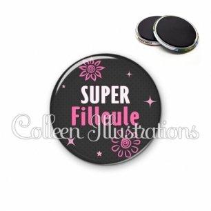 Magnet 56mm Super filleule (014GRI01)