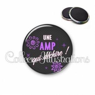 Magnet 56mm AMP qui déchire (014GRI03)