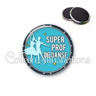 Magnet 56mm Super prof de danse (016BLE05)
