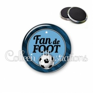 Magnet 56mm Fan de foot (016GRI03)
