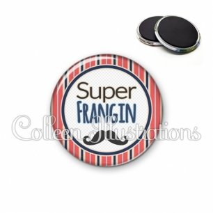 Magnet 56mm Super frangin (016MUL01)