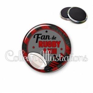 Magnet 56mm Fan de rugby à XIII (016MUL04)