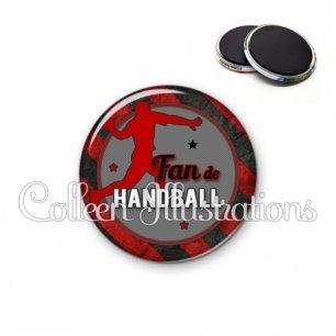 Magnet 56mm Fan de handball (016MUL05)