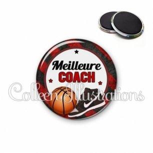 Magnet 56mm Meilleure coach (016MUL12)