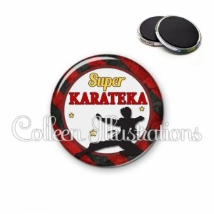 Magnet 56mm Super karateka (016MUL14)