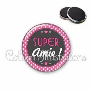 Magnet 56mm Super amie (016ROS01)