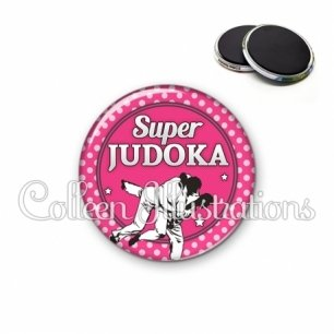 Magnet 56mm Super Judoka (016ROS06)