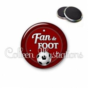 Magnet 56mm Fan de foot (016ROU02)