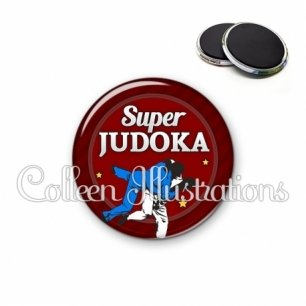 Magnet 56mm Super judoka (016ROU02)