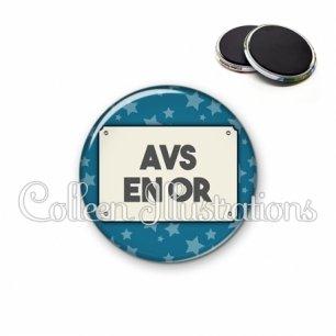 Magnet 56mm AVS en or (018BLE01)