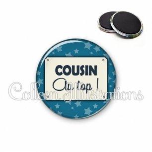 Magnet 56mm Cousin au top (018BLE01)