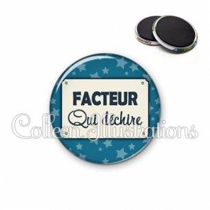 Magnet 56mm Facteur qui déchire (018BLE01)