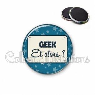 Magnet 56mm Geek et alors ? (018BLE01)