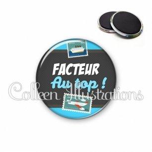 Magnet 56mm Facteur au top (019BLE01)