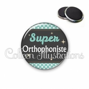 Magnet 56mm Super orthophoniste (019BLE03)