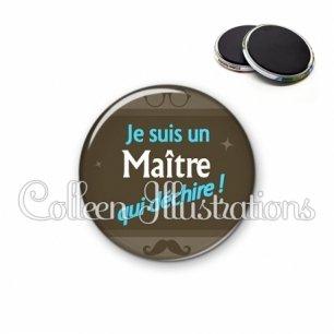Magnet 56mm Maître qui déchire (019MAR01)