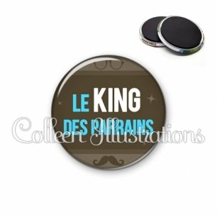 Magnet 56mm Le king des parrains (019MAR01)