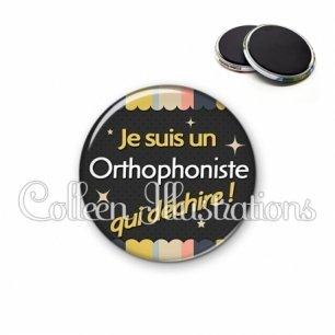 Magnet 56mm Orthophoniste qui déchire (019MUL04)