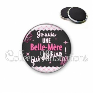 Magnet 56mm Belle-mère qui déchire (019ROS01)