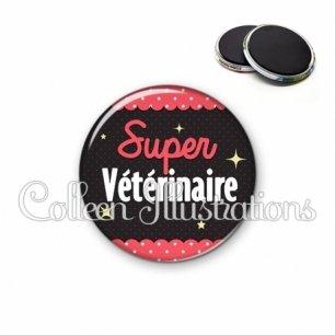 Magnet 56mm Super vétérinaire (019ROS05)
