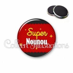 Magnet 56mm Super nounou (019ROU01)