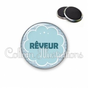 Magnet 56mm Rêveur (020BLE02)