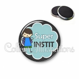 Magnet 56mm Super instit (020NOI02)