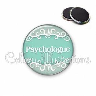 Magnet 56mm Psychologue (021VER01)
