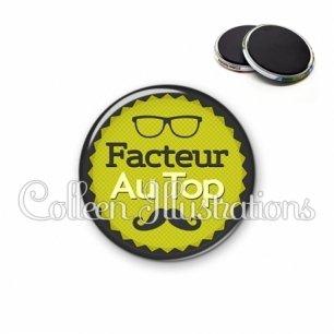 Magnet 56mm Facteur au top (024VER01)