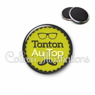 Magnet 56mm Tonton au top (024VER01)