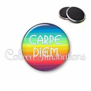 Magnet 56mm Carpe Diem (025MUL04)