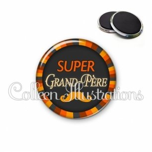 Magnet 56mm Super grand-père (027ORA01)
