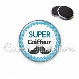 Magnet 56mm Super coiffeur (028BLE06)
