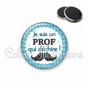 Magnet 56mm Prof qui déchire (028BLE06)