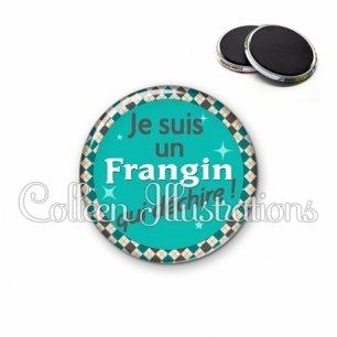 Magnet 56mm Frangin qui déchire (030VER01)